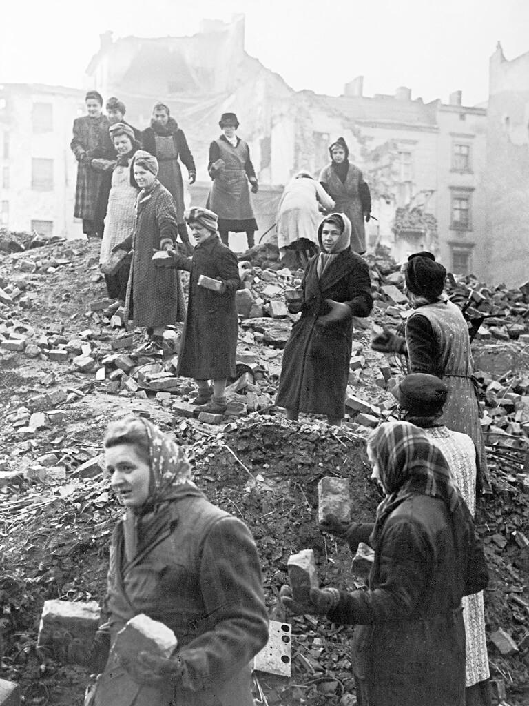 mujeres, Segunda Guerra Mundial