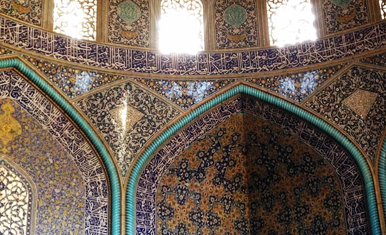 loftollah, mezquita, iran, isfahan