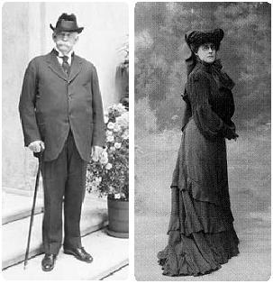 Retrato Henry y Arabella