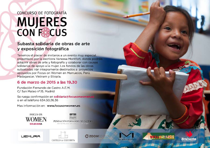 Subasta Solidaria 2015 - Focus On Women