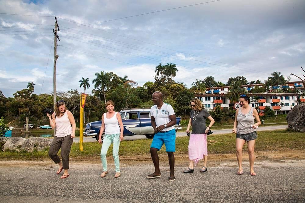 Viajeras FOW en Cuba (Fotografía Nuria López)