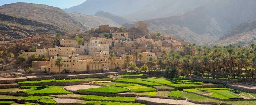 Viajar a Oman