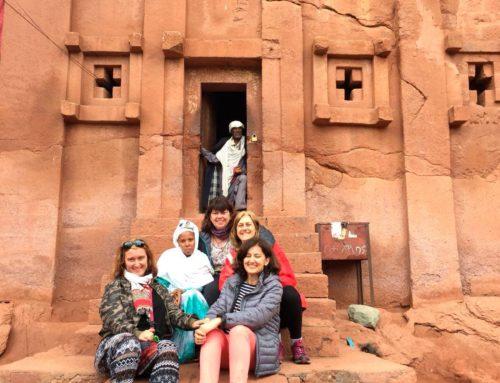 Vuelta al mundo en femenino: Segunda Parada, Sintiendo la fuerza de la Tierra