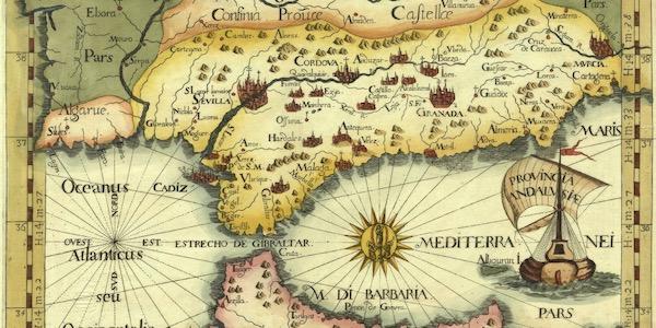 mapa al Andalus antiguo