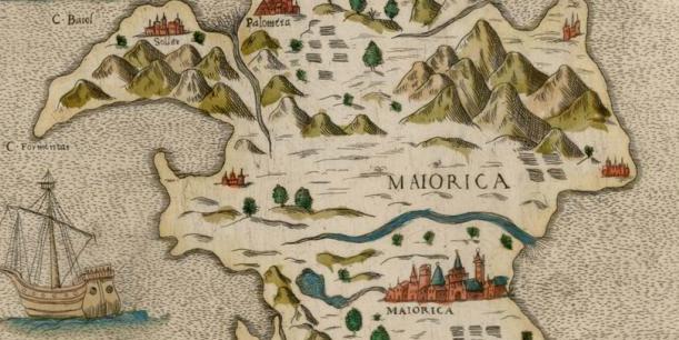 mapa antiguo mallorca mujeres
