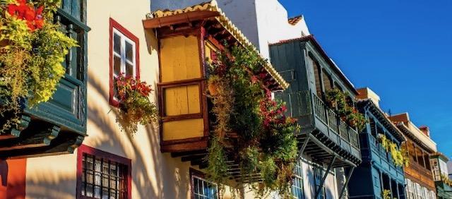 casas coloniales la palma viajar sola