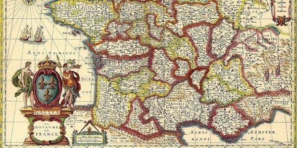 mapa antiguo para viaje de lujo femenino